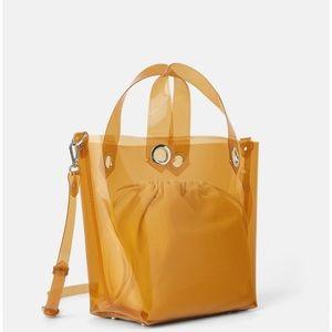 Beautiful Zara Transparent Handbag